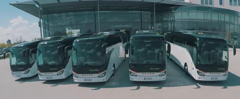 Setra-Flotte BerlinMobil